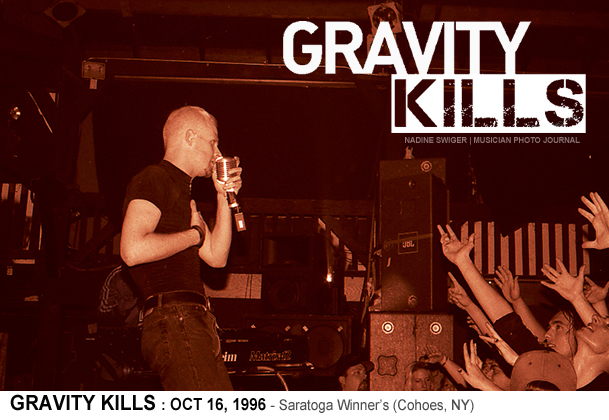 TBT – 1996 – GRAVITY KILLS in NY! | Musician Photo Journal